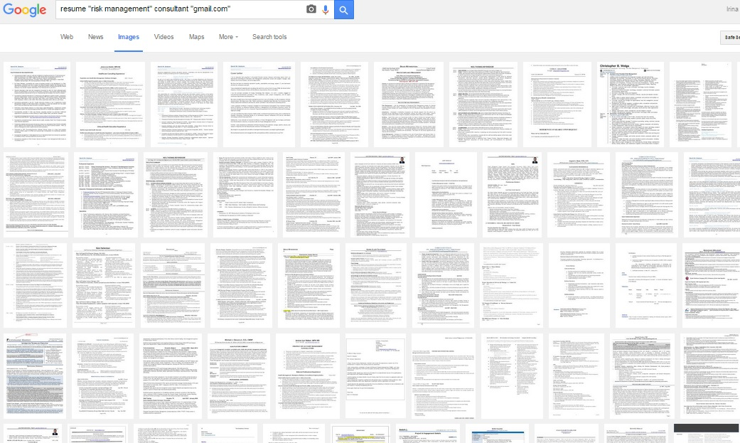 resumes image search